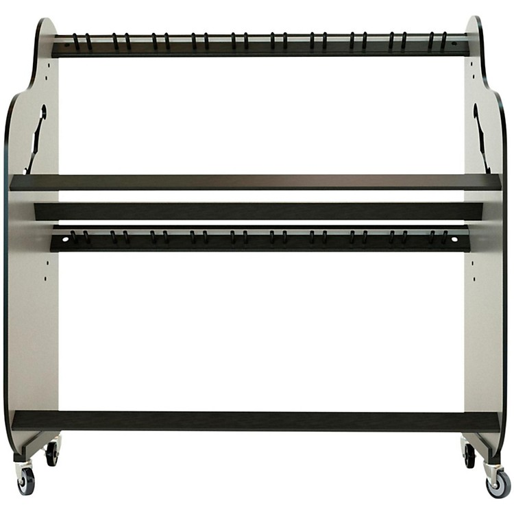 A&S Crafted Products Double-Stack Guitar Rack 69.5 x 68.375 x 30.25 in.