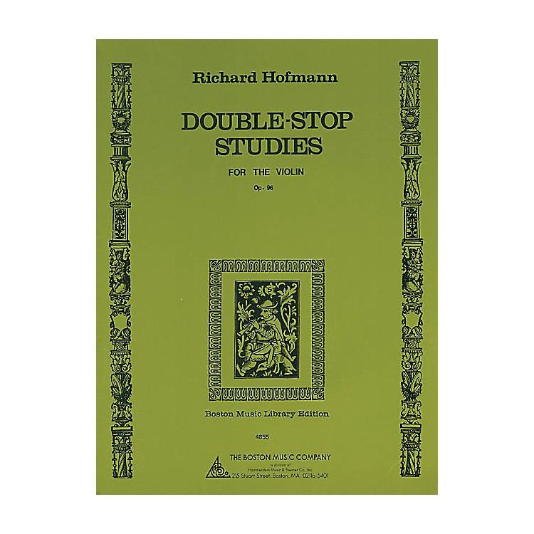 Music SalesDouble-Stop Studies (for the Violin, Op. 96) Music Sales America Series Written by Richard Hofmann