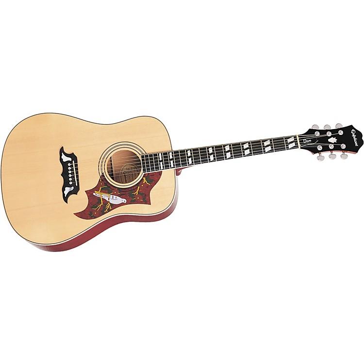 EpiphoneDove Acoustic GuitarNaturalChrome Hardware