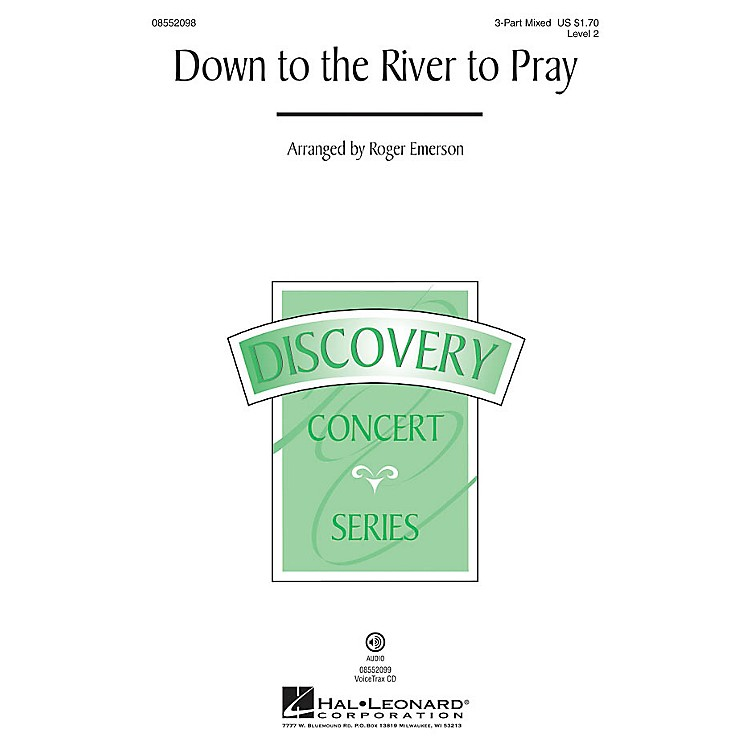 Hal LeonardDown to the River to Pray (Discovery Level 2) VoiceTrax CD Arranged by Roger Emerson