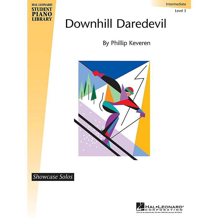 Hal LeonardDownhill Daredevil Piano Library Series by Phillip Keveren (Level Late Elem)
