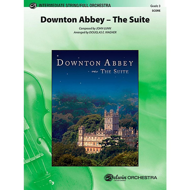 Alfred Downton Abbey The Suite Full Orchestra Level 3 Set