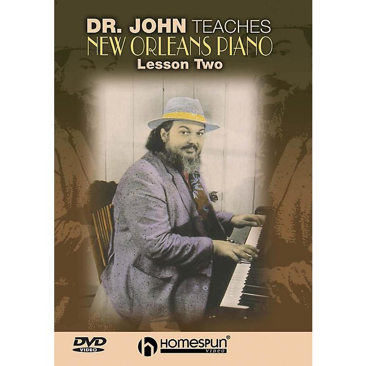 HomespunDr. John Teaches New Orleans Piano (DVD Two) Homespun Tapes Series DVD by Dr. John (Mac Rebennack)