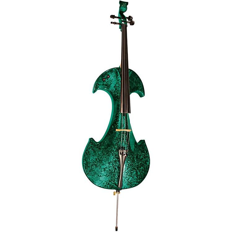 BridgeDraco Series 4-String Electric CelloGreen Marble