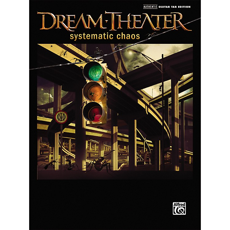 AlfredDream Theater - Systematic Chaos Guitar Tab Songbook