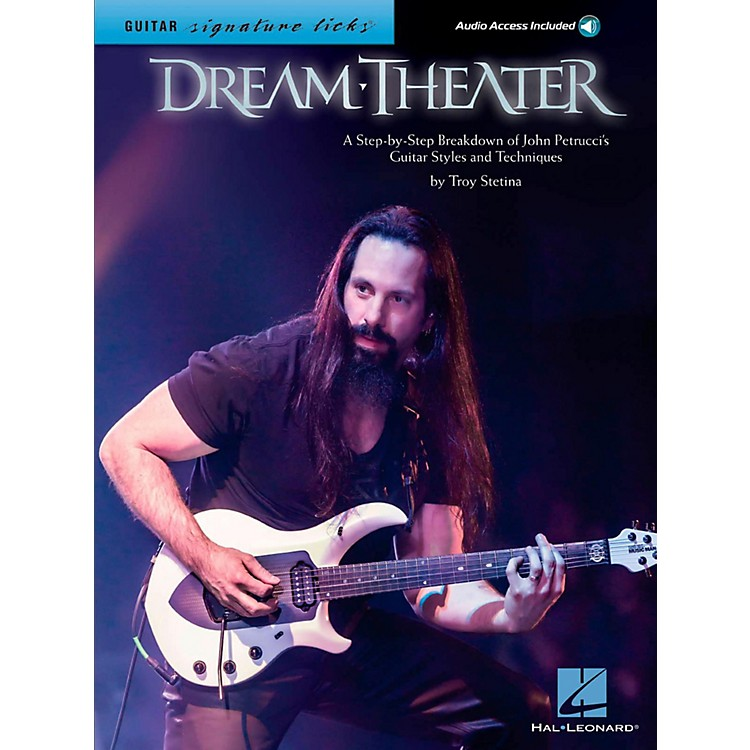 Hal Leonard Dream Theater Guitar Signature Licks - Breakdown of John Petrucci's Styles and Techniques Book/Audio Online