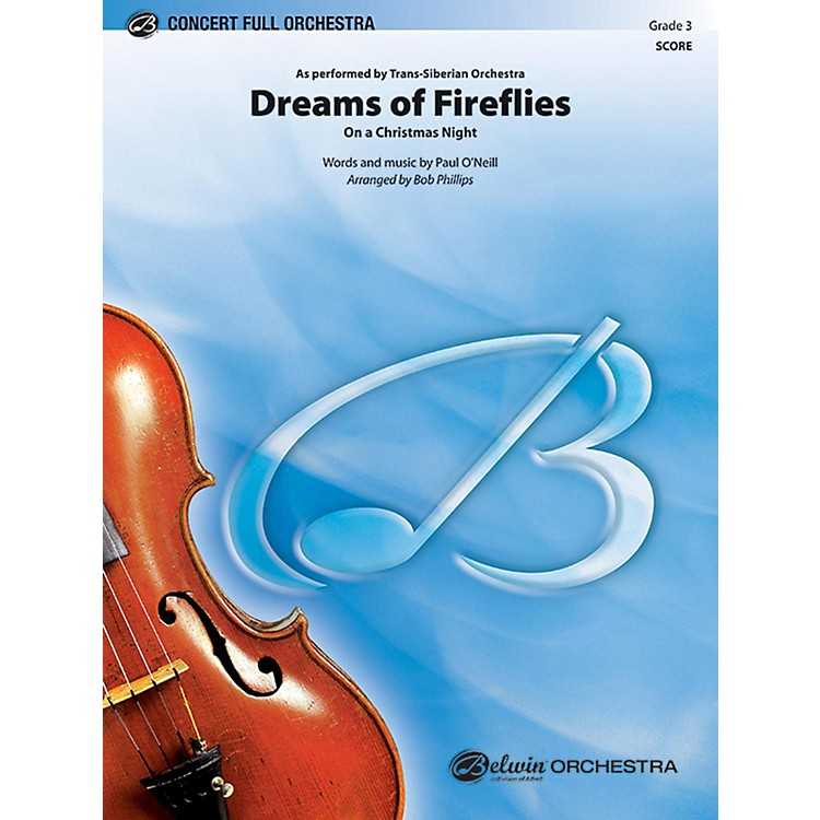 BELWINDreams of Fireflies (On a Christmas Night) Grade 3