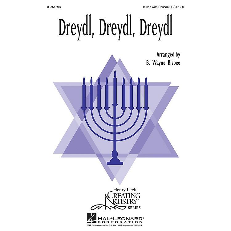 Hal LeonardDreydl, Dreydl, Dreydl 2-Part arranged by B. Wayne Bisbee