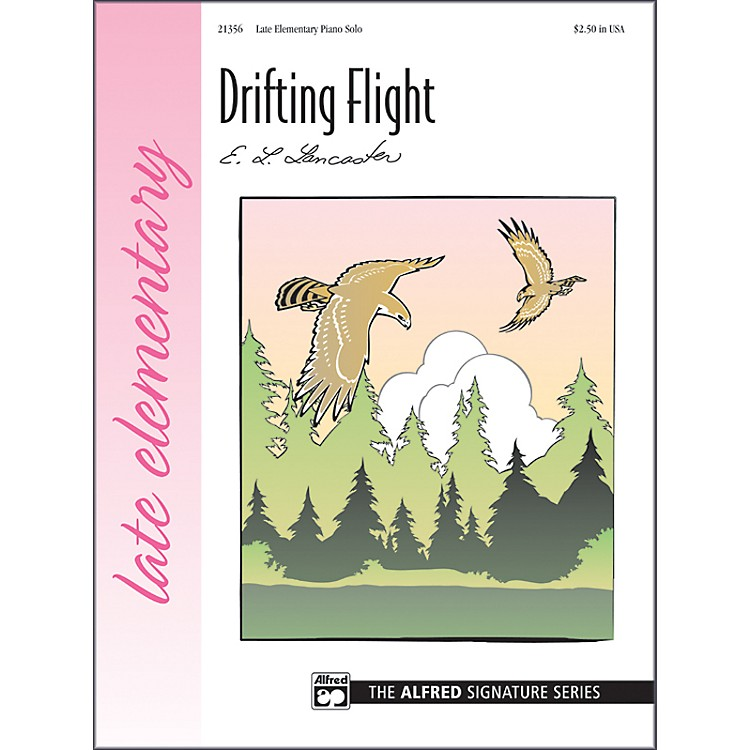 Alfred Drifting Flight Late Elementary Sheet Piano