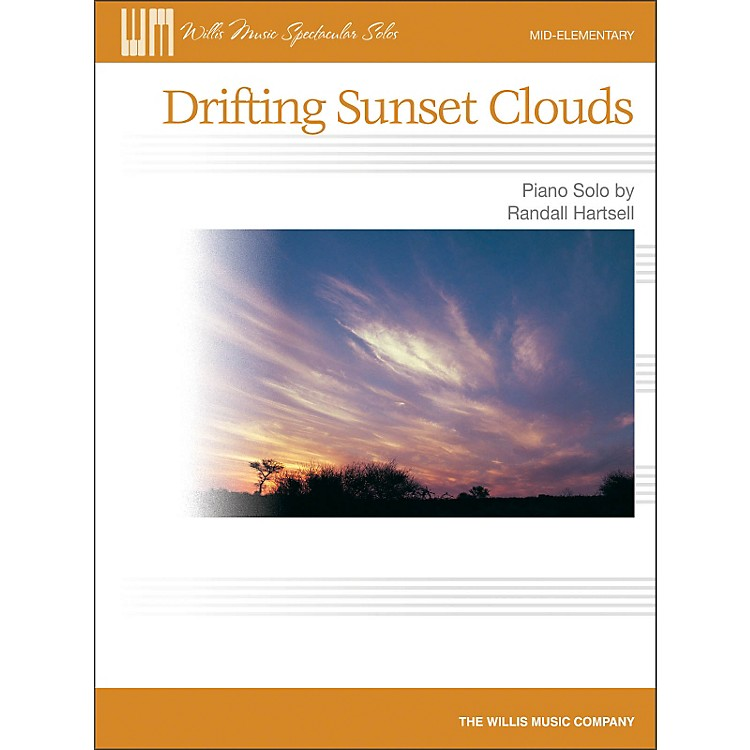 Willis MusicDrifting Sunset Clouds - Later Elementary Piano Solo Sheet