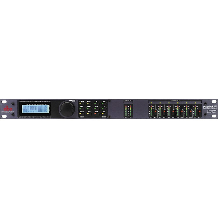 dbxDriveRack 260 Complete Equalization and Loudspeaker Control SystemBlack