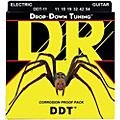 DR Strings Drop Down Tuning Extra Heavy Electric Guitar Strings (11-54)