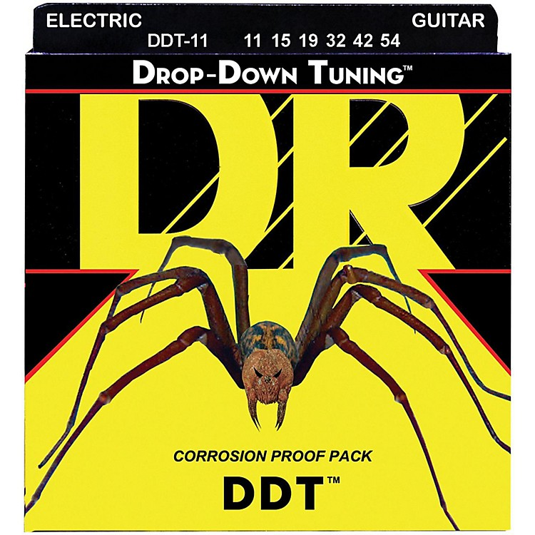DR StringsDrop Down Tuning Extra Heavy Electric Guitar Strings (11-54)