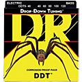DR Strings Drop Down Tuning Lite 5-String Bass Strings (40-120)