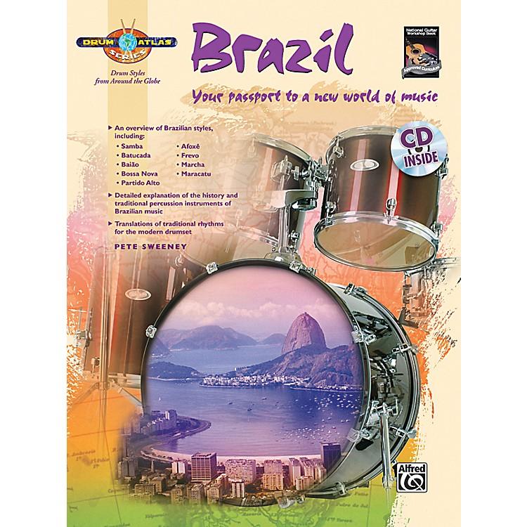 AlfredDrum Atlas: Brazil (Book/CD)