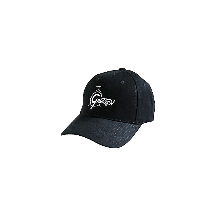 Gretsch Drum Logo Adjustable Baseball Cap Black