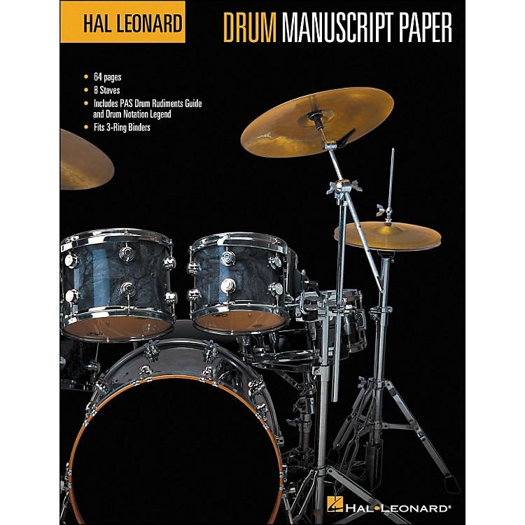Hal LeonardDrum Manuscript Paper (8.5 X 11)