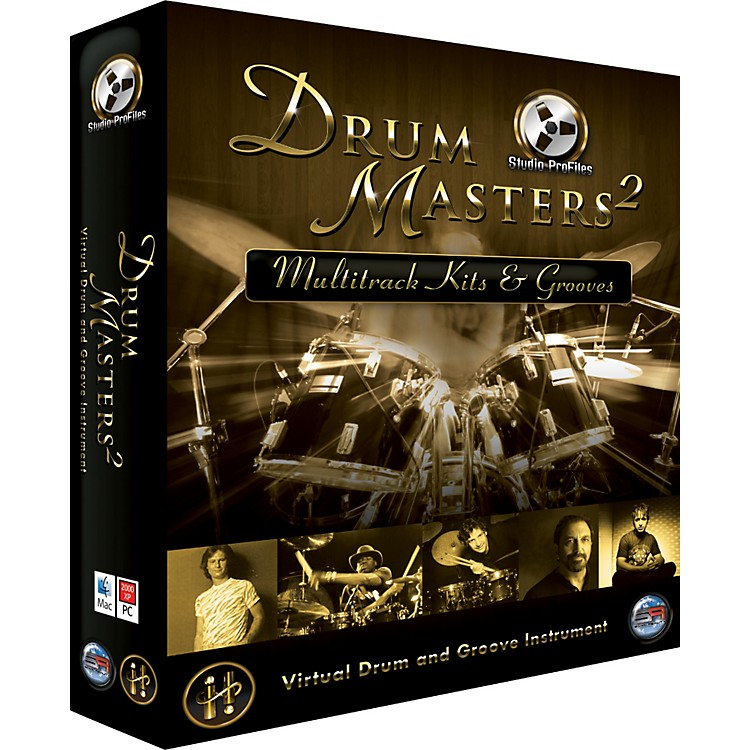 Sonic RealityDrum Masters 2: Multitrack Kits & Grooves (DVD Edition)