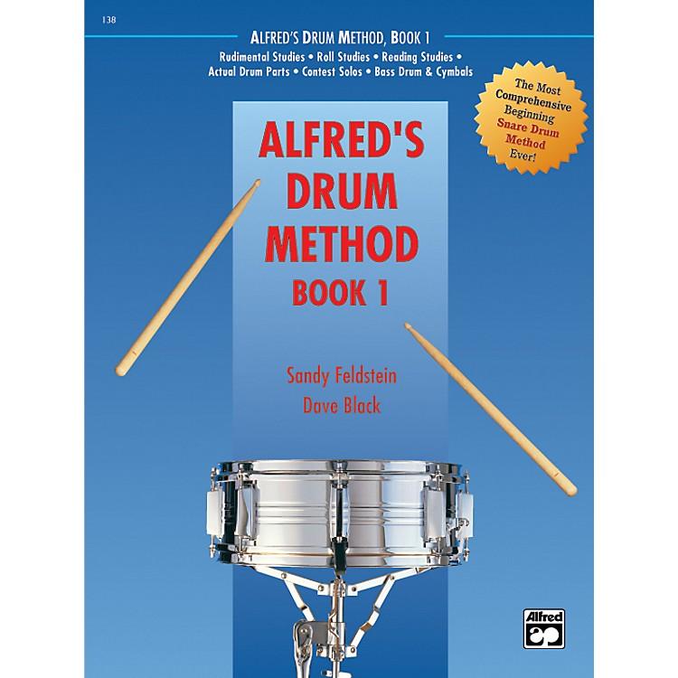 AlfredDrum Method Book 1 with DVD