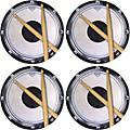 AIM Drum Practice Pad Vinyl Coaster 4 Pack