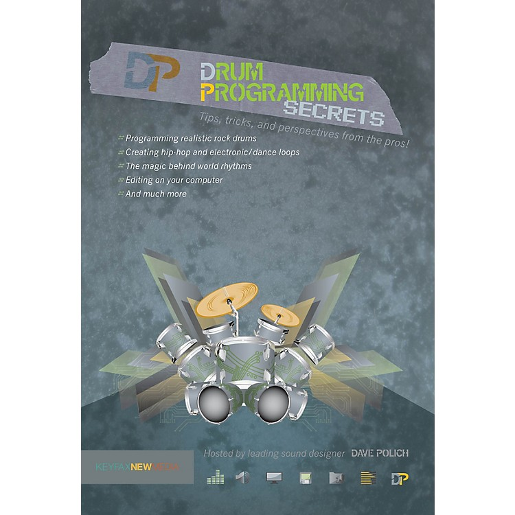 KeyfaxDrum Programming Secrets DVD Series DVD Written by Various