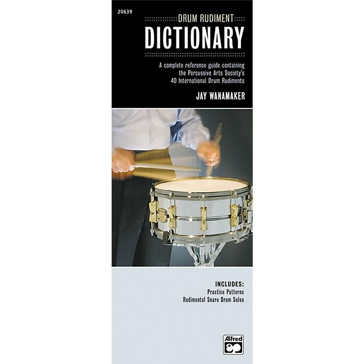 AlfredDrum Rudiment Dictionary (Book)
