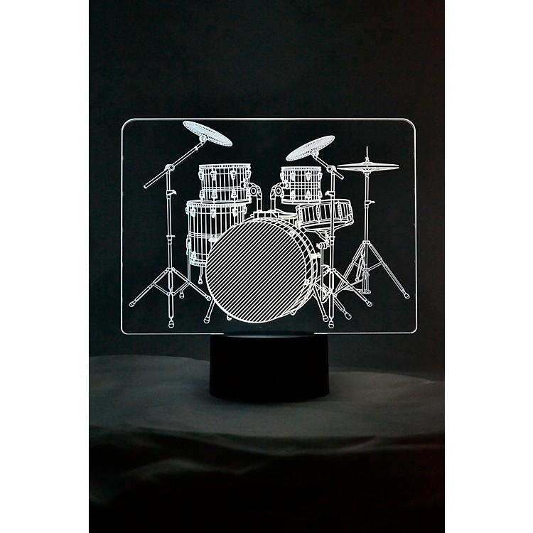 AIMDrum Set 3D LED Lamp Optical Illusion Light