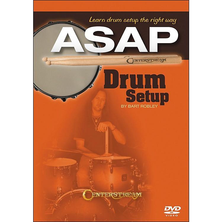 Centerstream PublishingDrum Setup ASAP: Learn Drum Setup The Right Way DVD