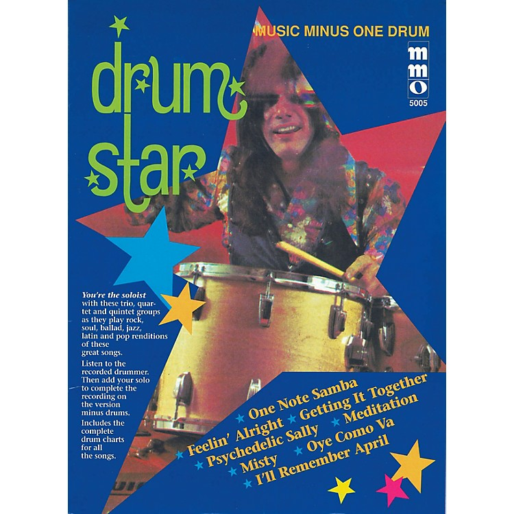 Music Minus OneDrum Star Music Minus One Series Softcover with CD