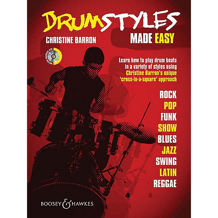 Boosey and HawkesDrum Styles Made Easy Concert Band Written by Christine Barron