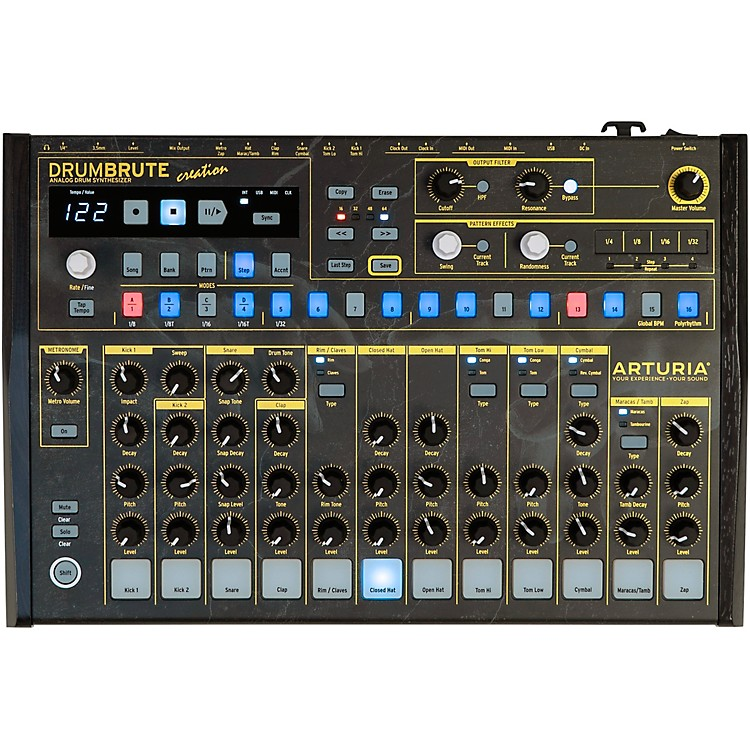 Arturia DrumBrute Creation Edition Analog Drum Machine