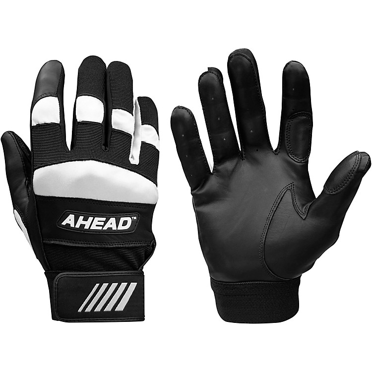 Ahead Drummer's Gloves with Wrist Support  Large