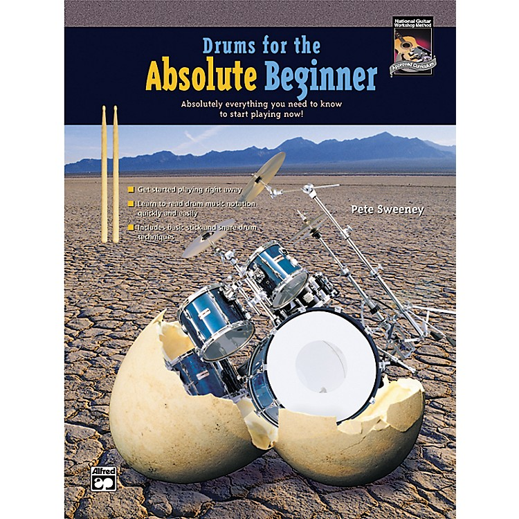 AlfredDrums for the Absolute Beginner (Book/CD)