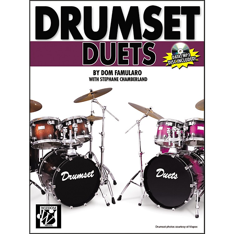 Alfred Drumset Duets Book & CD-ROM
