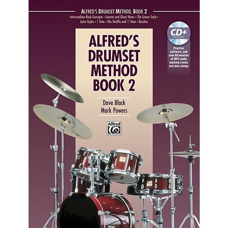 Alfred Drumset Method Book 2 & CD
