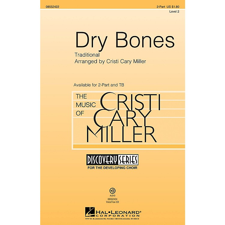 Hal Leonard Dry Bones (Discovery Level 2) VoiceTrax CD Arranged by Cristi Cary Miller