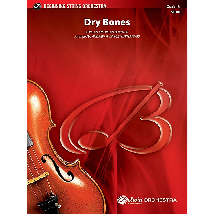 AlfredDry Bones String Orchestra Grade 1.5 Set