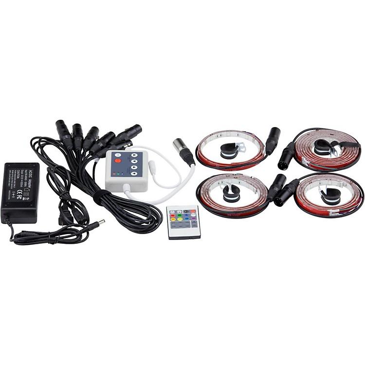 DrumLiteDual LED Banded Lighting Kit for 10/12/14/16/22 Drums
