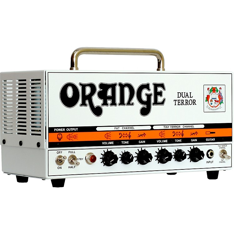 Orange Amplifiers Dual Terror DT30H 30W Tube Guitar Amp Head Orange