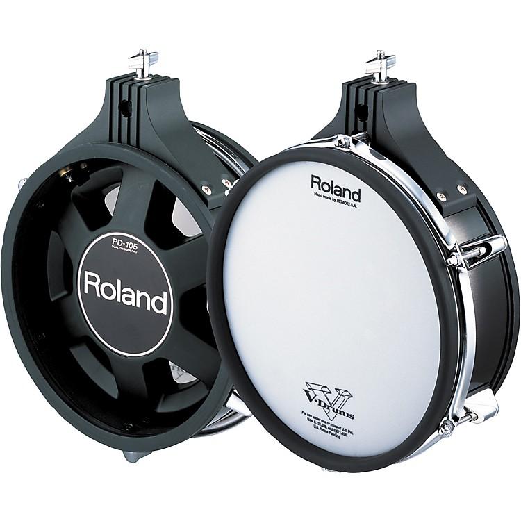 RolandDual-Trigger Mesh V-PadBlack10 in.