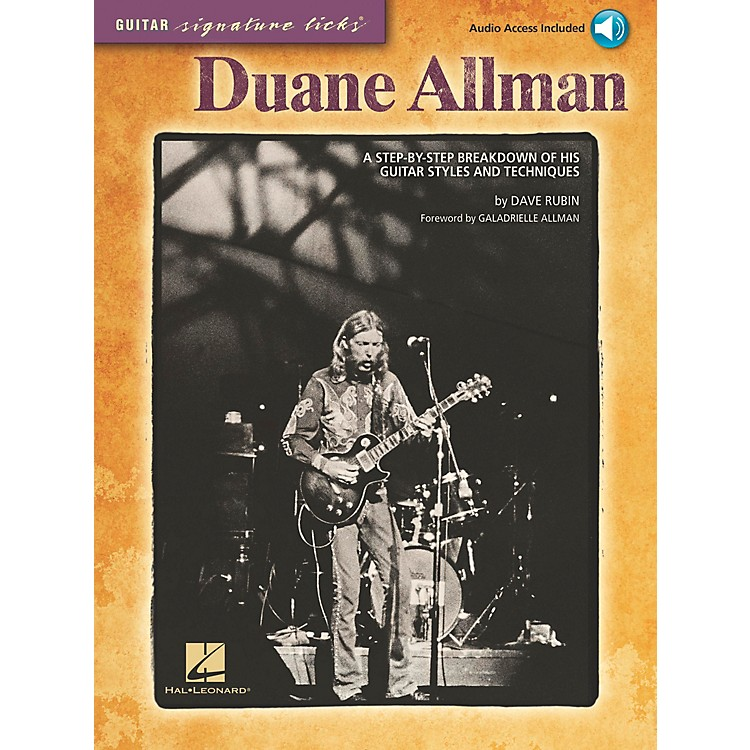 Hal LeonardDuane Allman - Guitar Signature Licks Book/CD