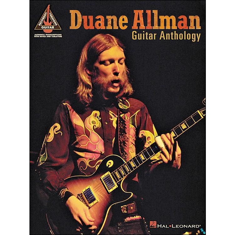 Hal LeonardDuane Allman Guitar Anthology Tab Book