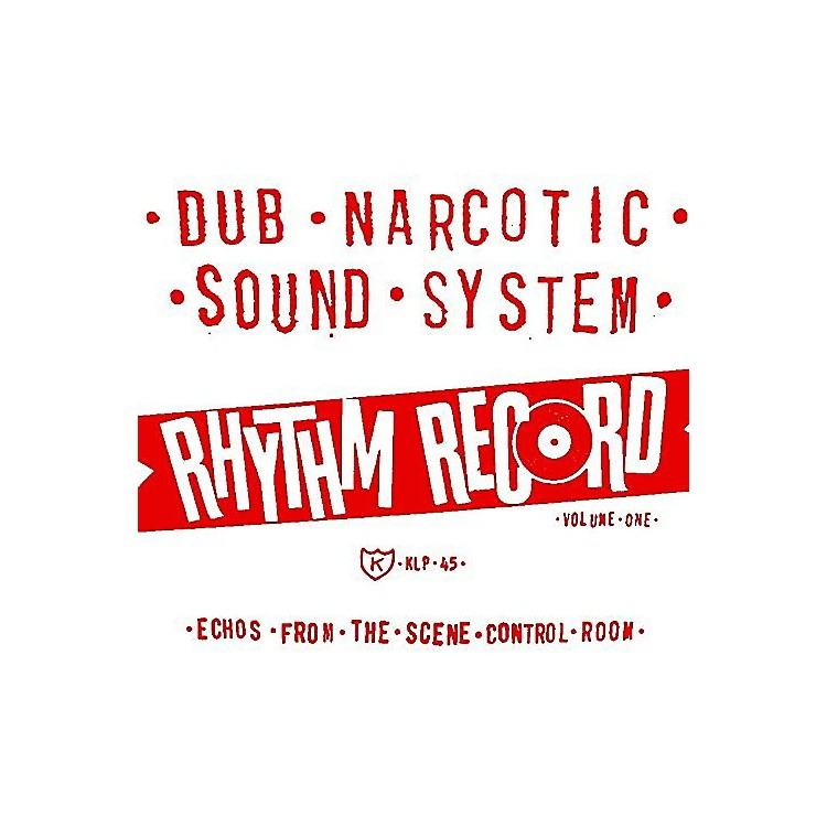 AllianceDub Narcotic Sound System - Rhythm Record 1 - One Echoes From Scene Control