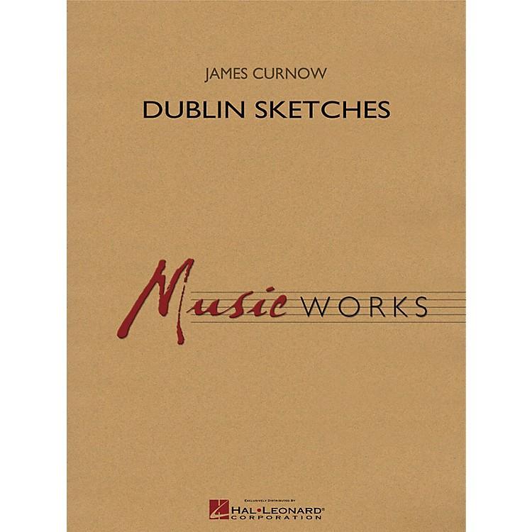 Hal LeonardDublin Sketches Concert Band Level 4 Composed by James Curnow