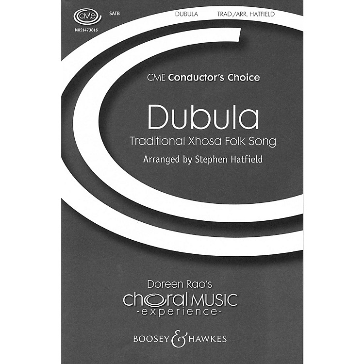 Boosey and HawkesDubula (CME Conductor's Choice) SSATB A Cappella arranged by Stephen Hatfield