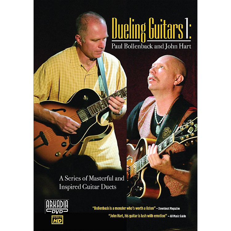 Hal LeonardDueling Guitars 1 - Paul Bollenback & John Hart DVD Series DVD Performed by Paul Bollenback