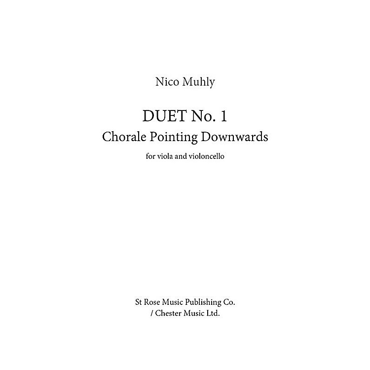 St. Rose Music Publishing Co.Duet No. 1 - Chorale Pointing Downwards (Cello and Viola) Music Sales America Series Softcover