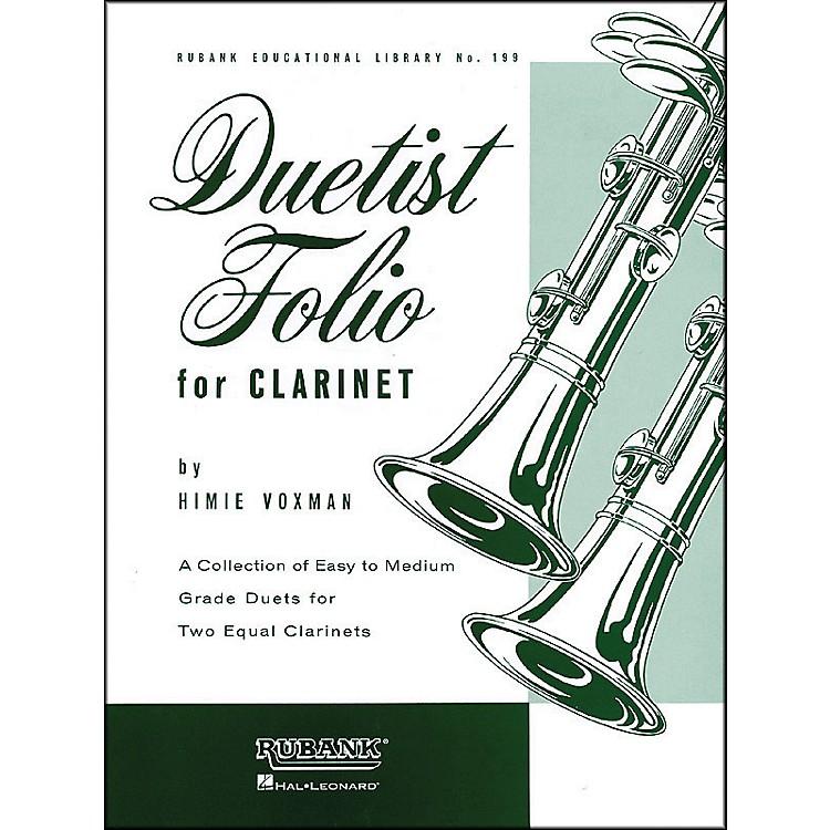 Hal LeonardDuetist Folio for Clarinet Easy To Medium