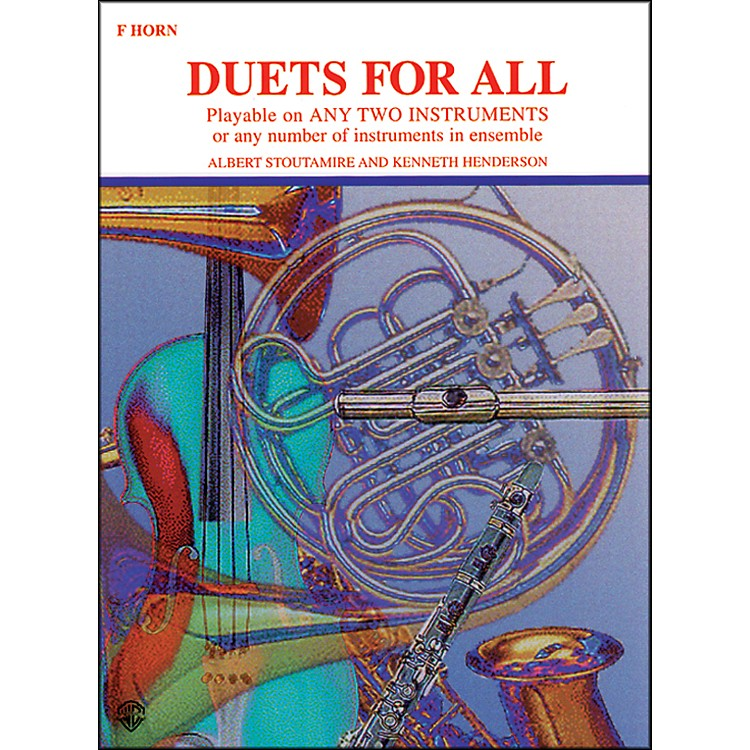 AlfredDuets for All Horn in F