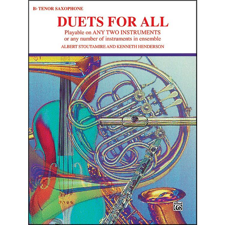 AlfredDuets for All Tenor Saxophone